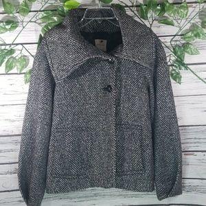 Anthropologie Silence + Noise cape sweater jacket